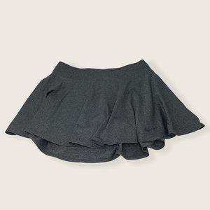 Nike Dri Fit Tennis Skirt Heather Gray Short Lined